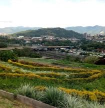 Moravia hillside garden